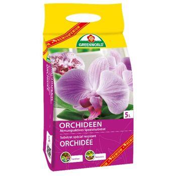12-135619, Orchideenerde  5 Liter, ASB Premium Greenworld, atmungsaktives Spezialsubstrat