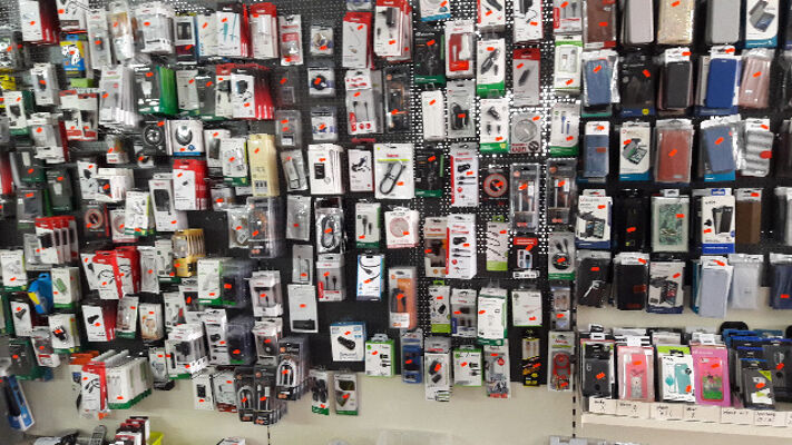 Geschäftsauflösung Handyzubehör Mulimedia Tegometall Regale Hama