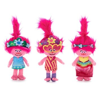 35-7104, Plüschfiguren Trolls World Tour Poppy 30 cm, aus dem Kinofilm Trolls World Tour