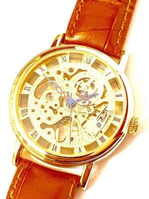 GOER Handaufzug Herren Armbanduhr