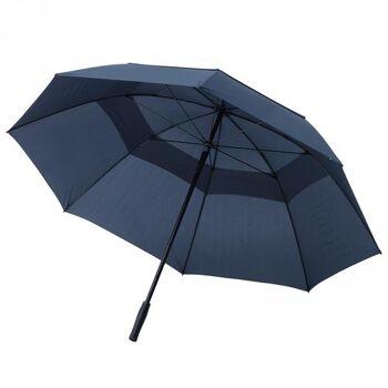 Regenschirm Golfschirm Gästeschirm Schirm Windproof Fiberglas Ventilation Air Vent XXL Übergröße Sturmschirm OKTAGON®