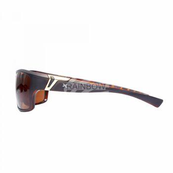 LOOX Design Sonnenbrille Marseille braun schwarz