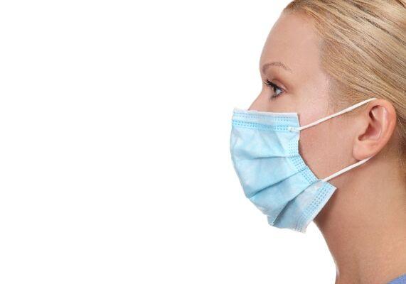 Mundschutzmaske, Atemschutz, Mundschutz, Gesichtsmaske, 3 lagig - in DE- SOFORT LIEFERBAR-