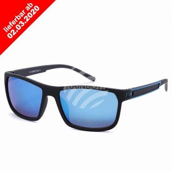 VIPER Sonnenbrille Designbrille schwarz