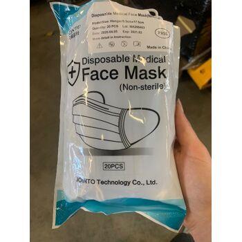 lagernd München 2: medizinische Maske 3lagig BFE>95  mit Testberichten , Bestellung schon ab 10.000 Stück möglich