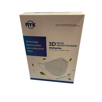 Atemschutzmaske FFP2 Mundschutz Ohrschlaufen Gesichtsmaske 3D Maske KN95 neu