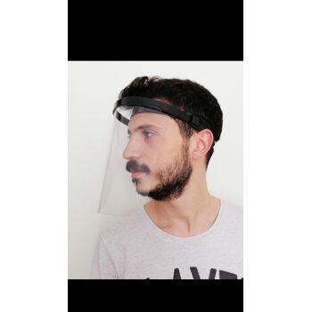 Gesichtsschutz Schutzmaske Gesichtsmaske Schutzvisier Visier Spuckschutz