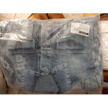 Jeans Hose Damen Jeans Jacke lottiert verpackt