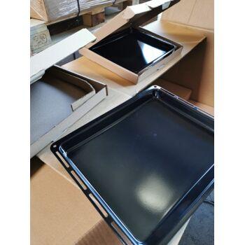 455x375x40 mm-Kratzfest-Backblech-Emaille-für-Backöfen von Bauknecht-Whirlpool-Ignis-IKEA