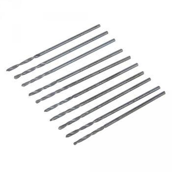 HSS- Spiralbohrer, metrisch, 1,0mm, 10er Pack