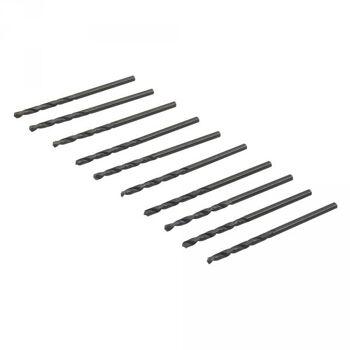HSS- Spiralbohrer, metrisch, 2,5mm, 10er Pack