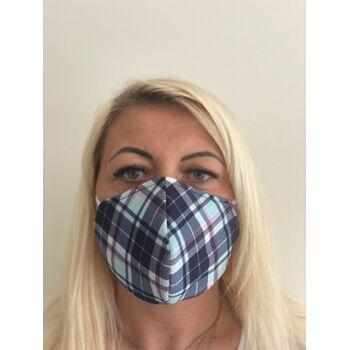 Mundschutz Gesichtsschutz Mundmaske Behelfsmaske Baumwolle wiederverwendbar, Firmenlogo