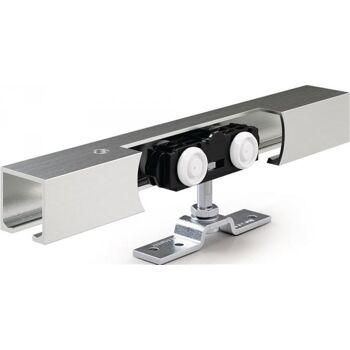 Schiebesystem Rollan 80 NT 80kg 3250mm Holzflügel 50-142cm Wand/Deckenmontage