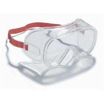 Schutzbrille UV,PC klar mit Gummiband mit Seitenschutz beschlagfrei EN166 3M