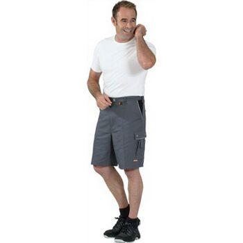 Shorts Canvas 320 Gr.L grau/schwarz 65 % PES/35 % BW