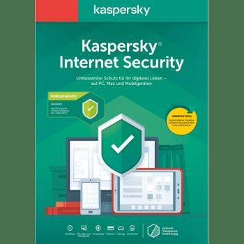 Kaspersky Internet Security 2020 10 User Key ESD