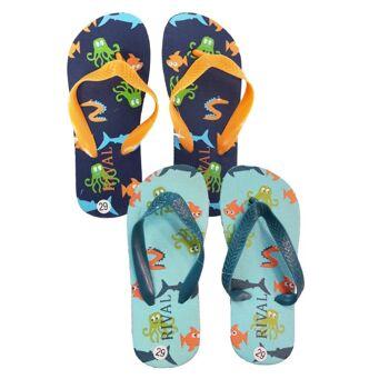 Kinderschuhe - 'Rival' Flip Flops für Jungen