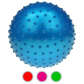 10-582719, Noppenball 15 cm, Igelball, Massageball, Wasserball, Strandball, Beachball, Stachelball+++++++++