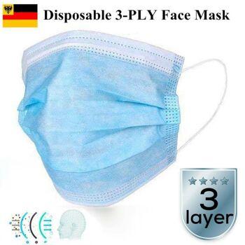 Mundschutz  Atemschutz Einweg-maske Gesundheits- und Schönheitspflege