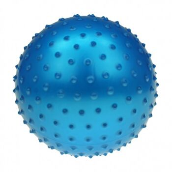 10-582721, XL Noppenball 35 cm, Igelball, Massageball, Wasserball, Strandball, Beachball, Stachelball