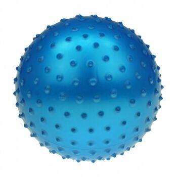 10-582722, Noppenball 21 cm, Igelball, Massageball, Wasserball, Strandball, Beachball, Stachelball++++++++++