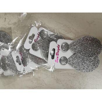 Blatt Blätter Tropfen Groß Metalllegierung Dünn Pulver Beschichtung pulverbeschichtet reflektierend glänzend