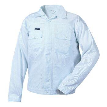 3 Stück Arbeitsjacke Jacke Bundjacke Weiß Weiss 100% Baumwolle 290G/qm Maler Food Lebensmittel Labor Berufskleidung