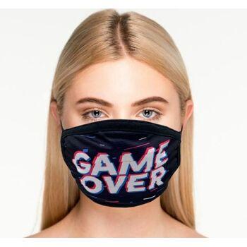 10 verschiedene Designs 3 lagige Behelfsmaske Maske waschbar & wiederverwendbar SOFORT LIEFERBAR