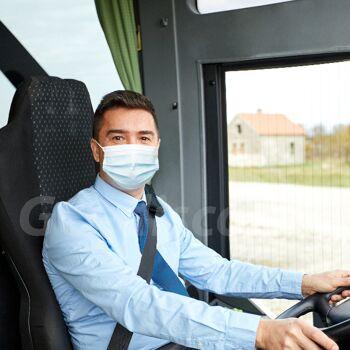 Mund-Nasen-Maske 3-lagig Einweg Mundschutz Communitymaske Mundbedeckung Behelfsmaske