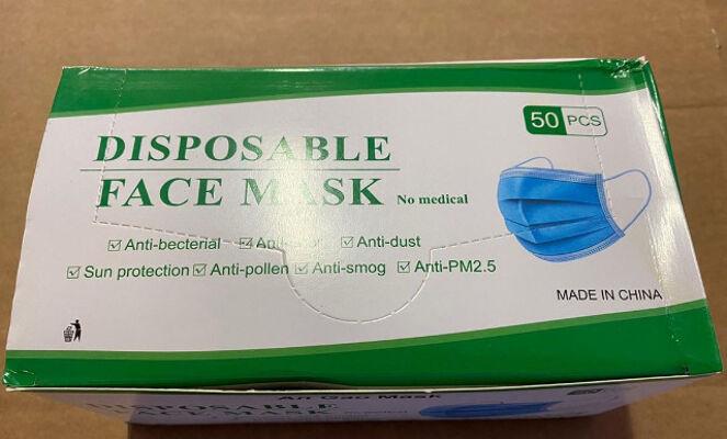Gesichtsmaske 3-lagig Mundschutz Maske - ab Lager in Hannover verfügbar