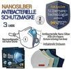Atemschutzmaske Hanvico SilverNano FFP2 wiederverwendbare Alltagsmaske CE zertifiziert