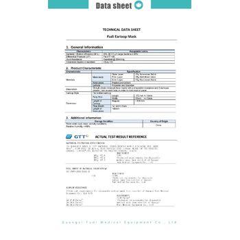 MNS Maske 3-lagig mit Hohenstein Prüfbericht