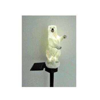 Solarleuchte Eisbär