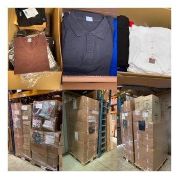 Sweat-Shirt, Hoodie, Longsleeve, Polo-Shirt, T-Shirt, Sporthose, Sportjacke Posten Export Baumwolle 100% & Co