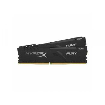 KINGSTON DDR4 16GB  CL15 DIMM Kit 2 1Rx8 HyperX FURY Black HX430C15FB3K2/16