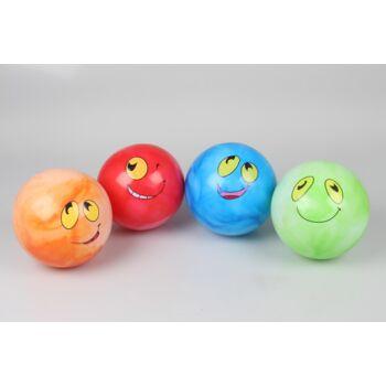 Spielball 20 cm, mit Gesicht, Grimassenball, Wasserball, Fussball, Beachball, Strandball, schwere Qualität, PVC-Ball