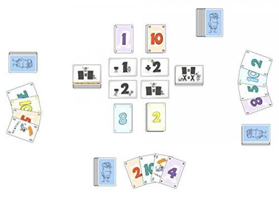 Amgio - Schwupps, Kartenspiel
