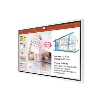 Samsung LH65WM Flip 165 cm (65 ) LED-Display Touchscreen LH65WMRWBGCXEN