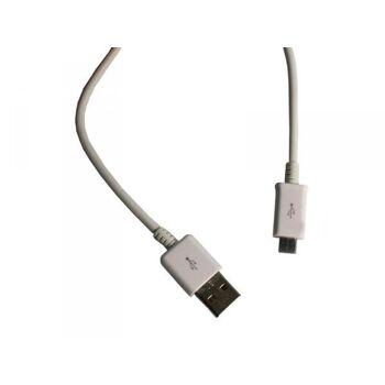 Micro-USB Ladekabel für alle micro-USB Geräte 96cm (Weiss)