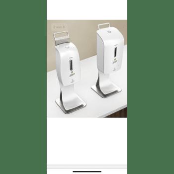 Desinfektionspender mit Sensor Desinfektionstand Desinfektionstation Hygiene