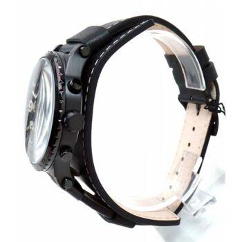 Guess Uhr Uhren Herrenuhr Multifunktion W1162G2 ARROW schwarz Leder