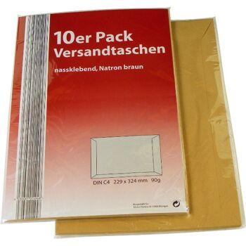 28-01494, Versandtaschen DIN C4, 10er Pack, 324x229mm,