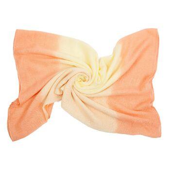 Damen Schal PES Voile Weich Leicht geschmeidig elastisch groß 180X100 cm Schmetterling