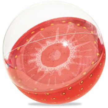 28-951967, Wasserball Frucht, D. 46 cm, Wurfball, Strandball