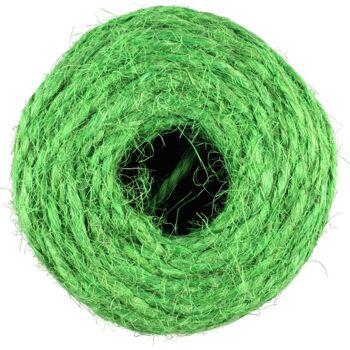 28-999147, Bindfaden grün, 70 Meter, Blumen, Sträucher, Äste binden