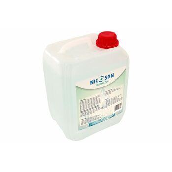 Oberflächen- und Hand DESINFEKTIONS Mittel, 5 Liter Kanister, bakterizid, sporizid, fungizid,viruzid, für Drogerie Haushalt Büro