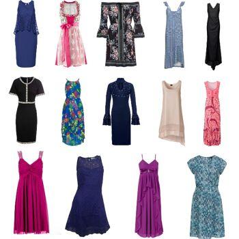 Damen Marken Kleider Mix 25 versch. Artikel neu Maxikleid Minikleid Restposten 1. Wahl OVP