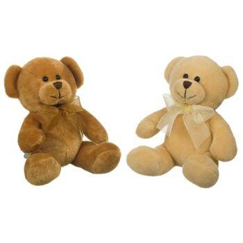 Heunec Bär 2-fach sortiert beige braun Teddy 120976