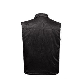 Weste Winter Arbeit Beruf Robust Fleece warm Schmutzabweisend Wasserabweisend Schwarz Praktisch Robust