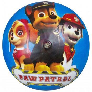 31-217085, PVC Ball Paw Patrol 23 cm, Wasserball, Spielball, Wurfball, Fussball, Fußball